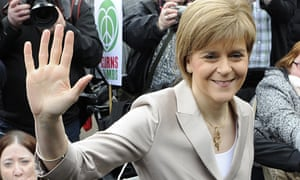 Scotland's First Minister and leader of