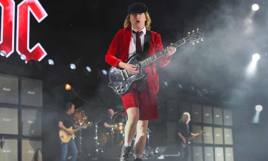 Angus Young tops the bill at Coachella.