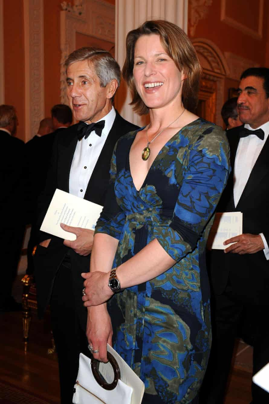 Love interest: Stephanie Flanders, the BBC's former economics correspondent.