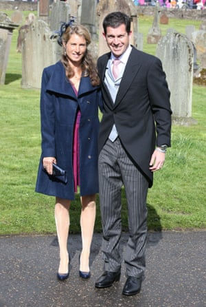 Tim Henman and wife Lucy arrive
