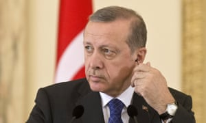 Turkish president Tayyip Erdoğan accused pro-Kurdish politicians of using insurgency as a campaign tactic.