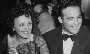 Edith Piaf and Marcel Cerdan at the Versailles nightclub, New York, in 1940.