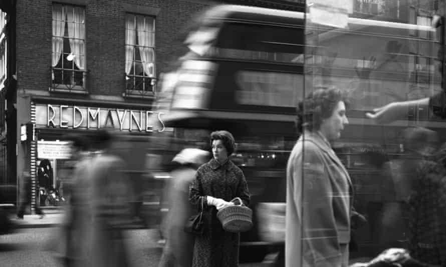London's Oxford Street in 1960