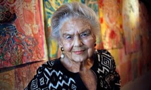 Sheila Kitzinger in 2013.