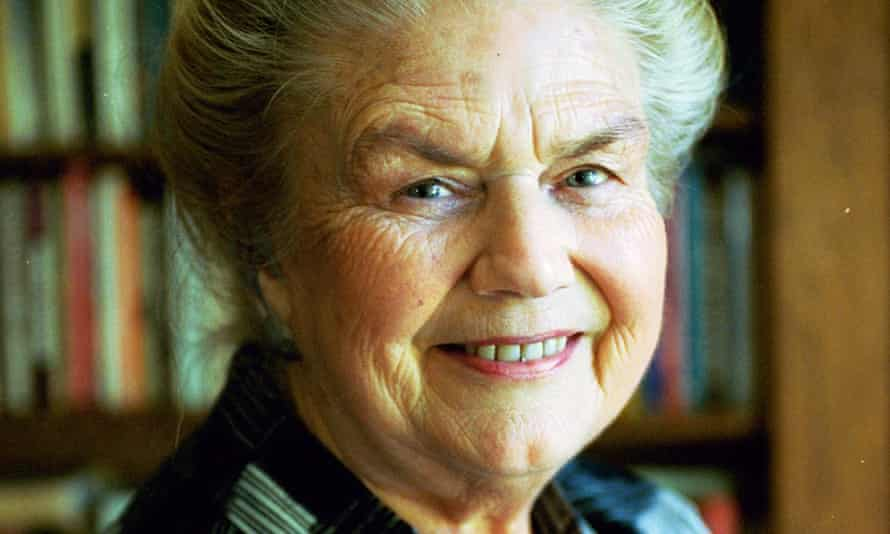 Sheila Kitzinger, childbirth educator, author and social anthropologist.
