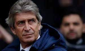 Manuel Pellegrini, Manchester City manager