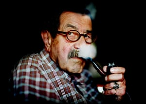 Günter Grass at home in May 2007.