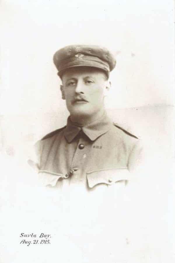 Rachel Billington grandfatherTom Longford, photographed in Gallipoli shortly before his death.