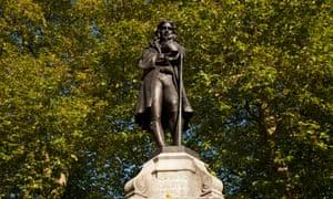 Bristol memorial to slave-trader Edward Colston