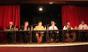 Nick Clegg was a no-show at hustings at Crookes social club in Sheffield Hallam on Sunday night. A 22-year-old student stood in for him in his absence