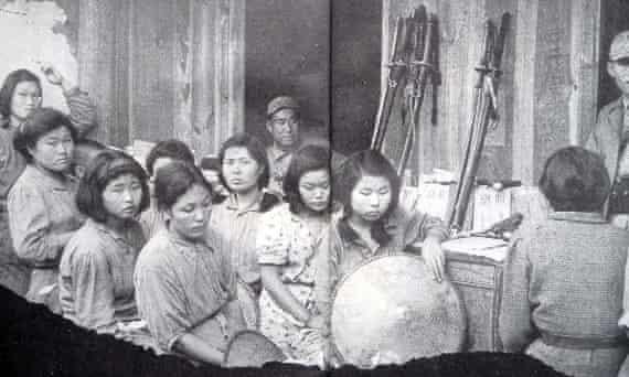 Captured comfort women