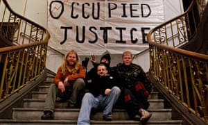 Occupy Group Squat at Old Street Magistrates Court, London, Britain - 21 Dec 2011