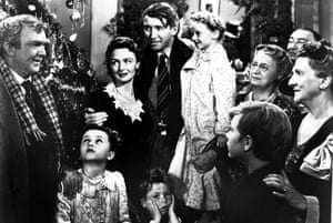 George Bailey achieves the wonderful life by sacrificing his ambitions for the sake of his family