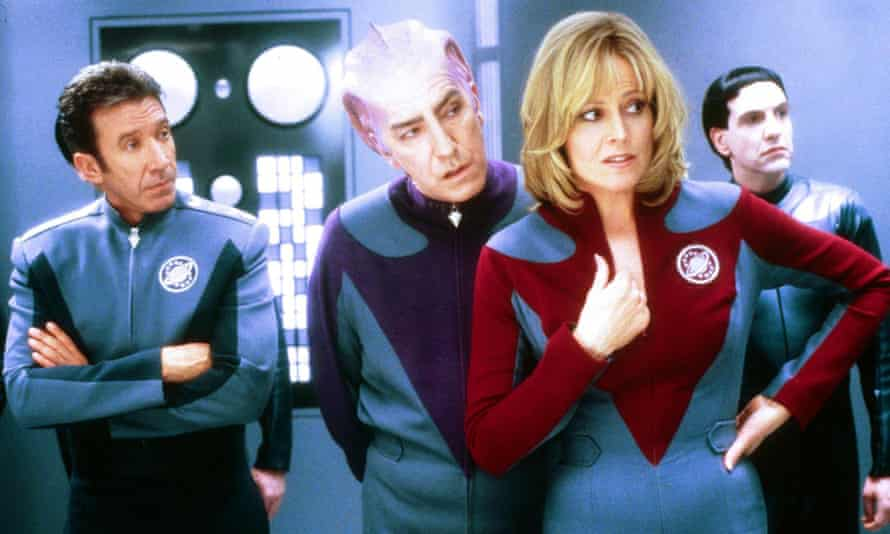 What's the difference between the real and the imaginary? Galaxy Quest. Photograph: Rex