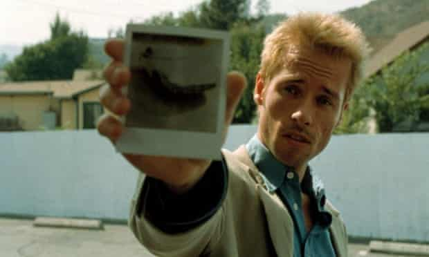 Remember this? Guy Pearce in Memento