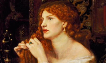Aurelia (Fazio's Mistress),1863-1873, (detail), by Dante Gabriel Rossetti; Fanny Cornforth was the model.