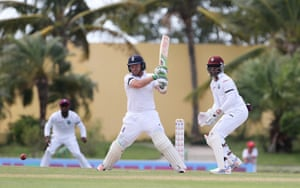 Ian Bell hits out on the way to a fifty.