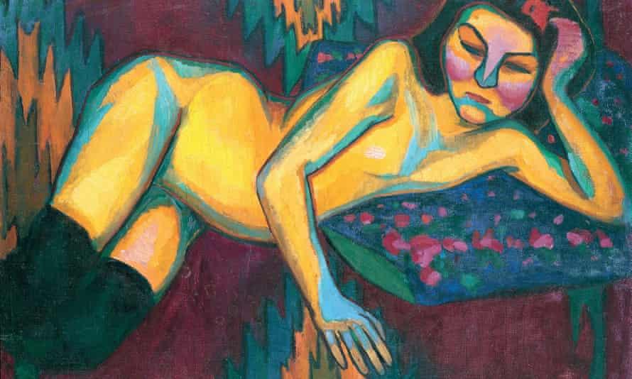 Yellow Nude, 1908.