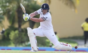 Ben Stokes in good form as powers another delivery away.