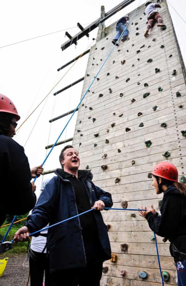 David Cameron National Citizen Service