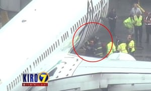 The airline said the agent appeared 'OK' and was actively investigating the matter.