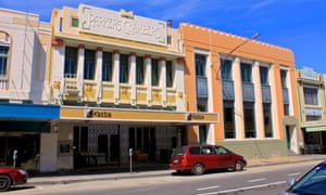Napier is one of the southern hemisphere's most celebrated art deco towns