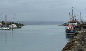 Ahuriri harbour.