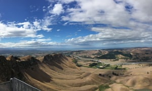 Te Mata Peak views.