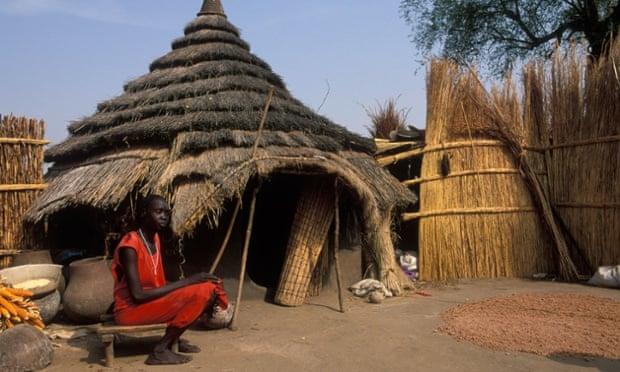 A woman in Gambella.