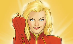Fistycuffs …Captain Marvel.