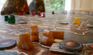 Pawns in the Game of Thrones board game