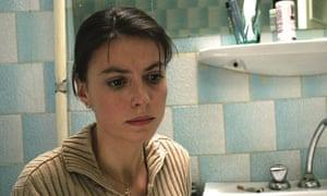 Laura Vasiliu as Gabita in a still from the film  4 Months, 3 Weeks & 2 Days