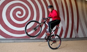 Grayson Perry has been a keen cyclist for more than 40 years.