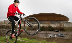 Grayson Perry at Lee Valley VeloPark.