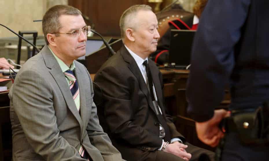 Vadim Koshlyak and Alnur Mussayev trial
