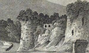 J Greig于1786年打印羊毛衫城堡。