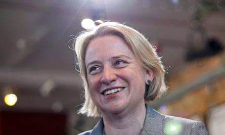 Britain's Green party leader Natalie Bennett