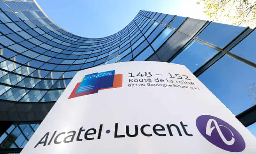 Alcatel-Lucent HQ near Paris: the deal would allow Nokia to expand its US presence, where the French firm is a major supplier to AT&T and Verizon, and to access its internet-routing business.