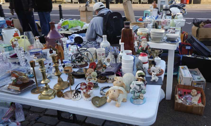 West's stall sells all manner of goods found in house clearances.