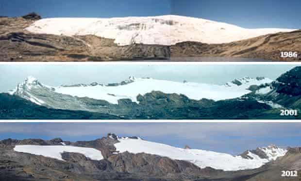 Pastoruri glacier composite