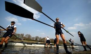 Oxford's women's Boat Race crew