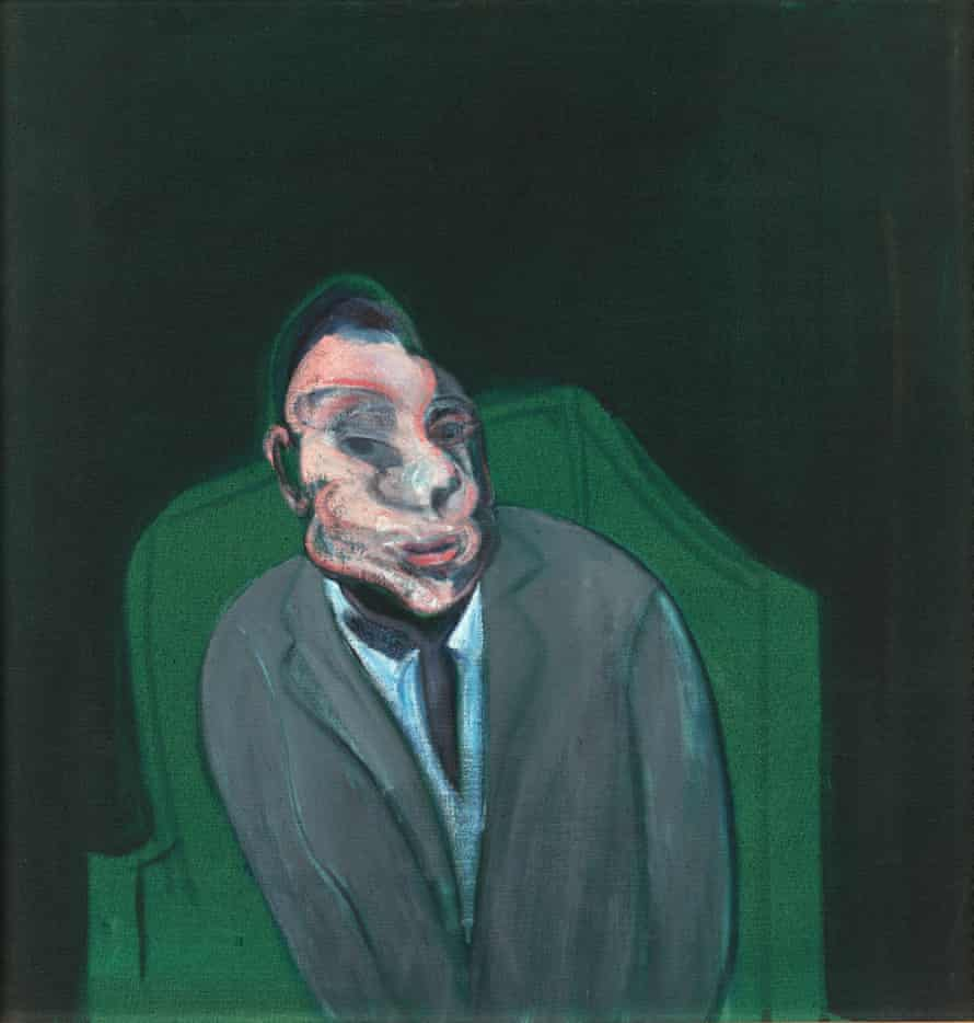 Head of a Man, 1960, by Francis Bacon