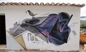 Graffiti in Fanzara.