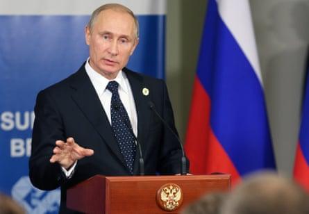 Vladimir Putin declared Estonia an enemy state in 2007.