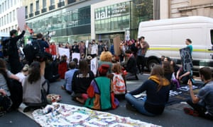 University of the Arts London protest
