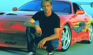 Fast and Furious film still with Paul Walker
