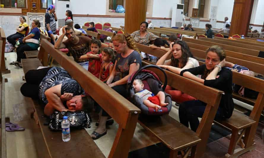 Displaced Iraqi Christians in Irbil