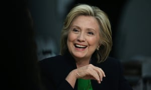 Democratic presidential hopeful and former Secretary of State Hillary Clinton speaks during a roundtable discussion with students and educators at the Kirkwood Community College Jones County Regional Center on April 14, 2015 in Monticello, Iowa.
