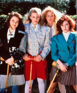 The cast of Heathers - inspiring Hillary Clinton since the 1990s