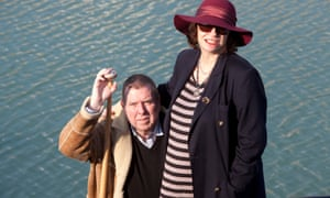 Timothy Spall with wife Shane.
